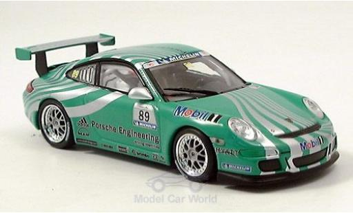 Porsche 997 GT3 1/43 Minichamps 911  green No.89 RAC diecast model cars