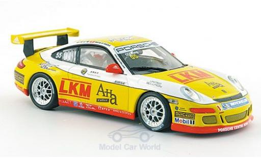 Porsche 997 SC 1/43 Minichamps GT3 Cup No.55 Asian Carrera Cup Macau 2007 O Young miniature