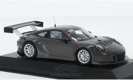 Porsche 911 1/43 Minichamps GT3 R (991) No.161 Manthey Racing Test Nürburgring 2015 miniature