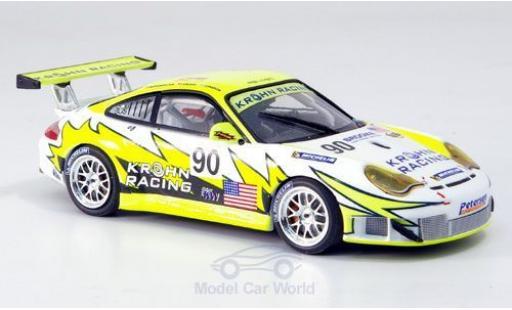 Porsche 996 SC 1/43 Minichamps GT3 R No.90 White Lightning Racing Bergmeister/Jönsson/Krohn miniature