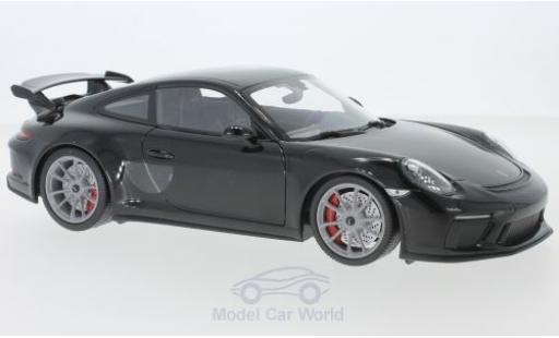 Porsche 991 GT3 1/18 Minichamps 911 black 2017 diecast model cars
