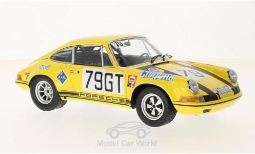 Porsche 911 SC 1/18 Minichamps S No.79 Racing Team AAW 1000 Km Nürburgring 1971 D.Fröhlich/P.Toivonen miniatura