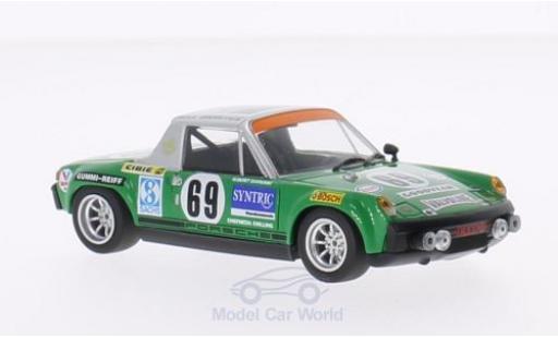 Porsche 914 1/43 Minichamps /6 No.69 Max Moritz Racing 24h Le Mans 1971 G.Quist/D.Krumm miniature