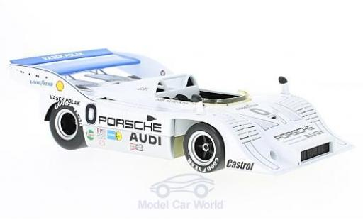 Porsche 917 1973 1/18 Minichamps /10 RHD Vasek Polak Racing Can-Am Mosport J.Scheckter miniature