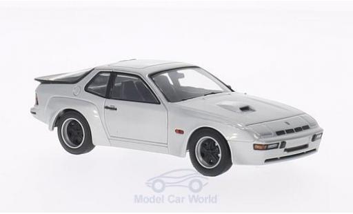 Porsche 924 1/43 Minichamps Carrera GT silber 1981 reduziert