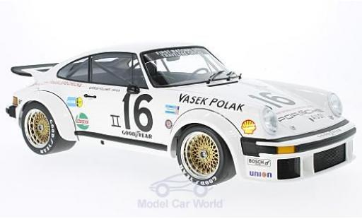 Porsche 934 1976 1/12 Minichamps No.16 Vasek Polak Racing Trans-Am G.Follmer miniature