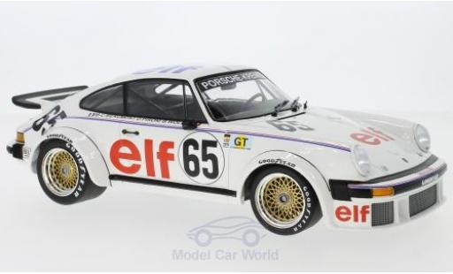 Porsche 934 1976 1/18 Minichamps No.65 Kremer Racing 24h Le Mans B.Wollek/E.Pirro/M.-C.Beaumont miniature