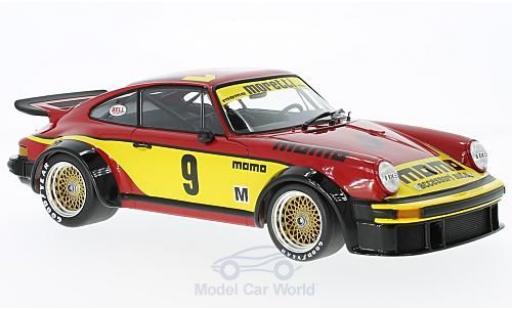 Porsche 934 1/18 Minichamps No.9 Jolly Club Momo 6h Silverstone 1977 V.Brambilla/G.Moretti miniatura