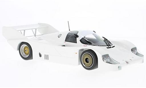 Porsche 956 1982 1/18 Minichamps K white Plain Body Version diecast model cars
