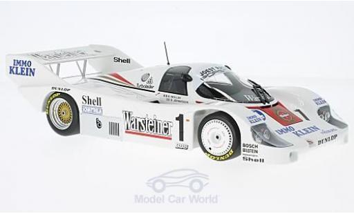 Porsche 956 1986 1/18 Minichamps K No.1 Joest Racing Warsteiner DRM Zolder 1986 B.Wollek modellautos