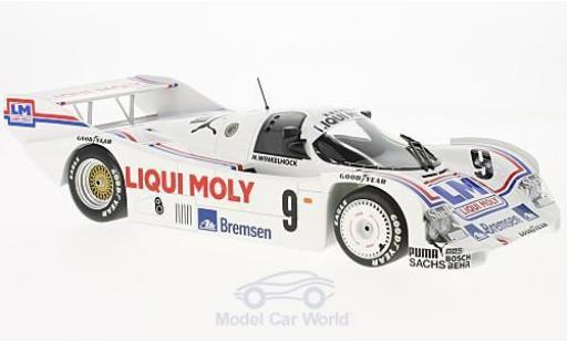 Porsche 962 1985 1/18 Minichamps C No.9 Kremer Racing Liqui Moly Norisring Trophäe M.Winkelhock miniature