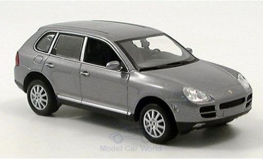 Porsche Cayenne 1/43 Minichamps V6 metallise grise 2003 miniature