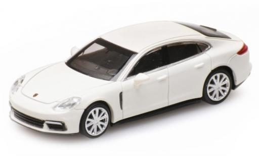 Porsche Panamera 4S 1/87 Minichamps blanco 2015 coche miniatura