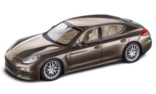 Porsche Panamera S 1/43 Minichamps metallise brown 2014 diecast model cars