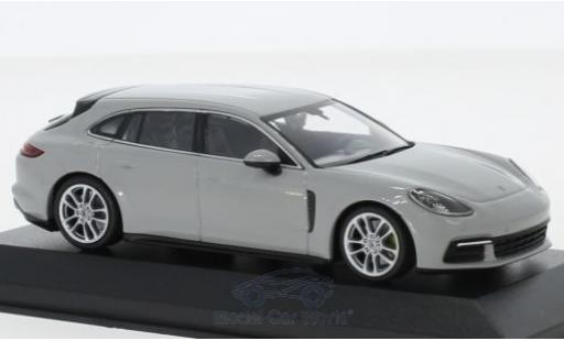 Porsche Panamera 1/43 Minichamps Sport Turismo 4E-Hybrid grise 2017 miniature