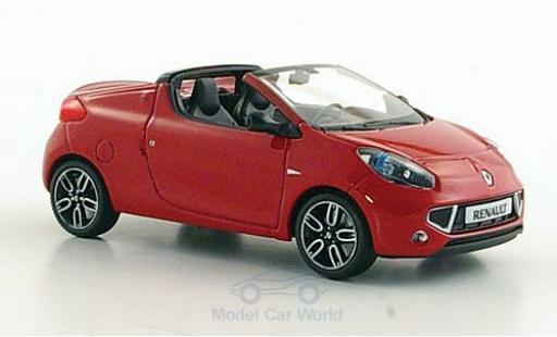 Renault Wind 1/43 Minichamps rouge 2010