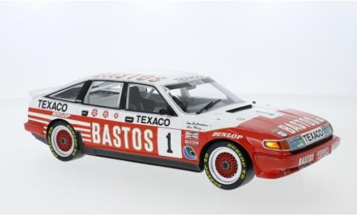 Rover Vitesse 1/18 Minichamps RHD No.1 Bastos Texaco Racing Team Bastos ETCC 500 km Donington 1985 T.Walkinshaw/W.Percy miniature