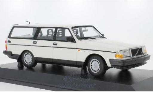 Volvo 240 1/18 Minichamps GL Break blanche 1986 miniature