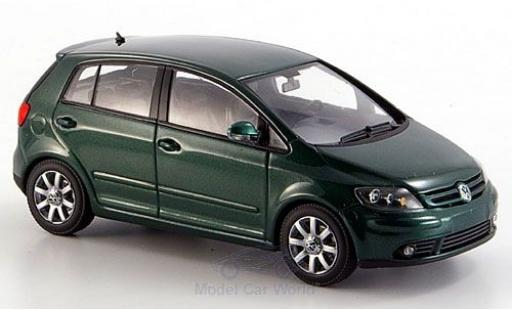 Volkswagen Golf V 1/43 Minichamps Plus metallise verte 2004 miniature
