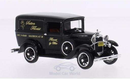 Ford Model A 1/43 Motorhead Livery noire Sutton Florist 1931 miniature