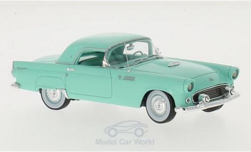 Ford Thunderbird 1955 1/43 Motorhead Hardtop turquoise miniature