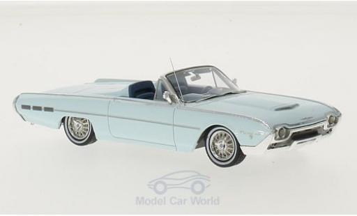 Ford Thunderbird 1962 1/43 Motorhead Sports Roadster hellbleue 1962 miniature