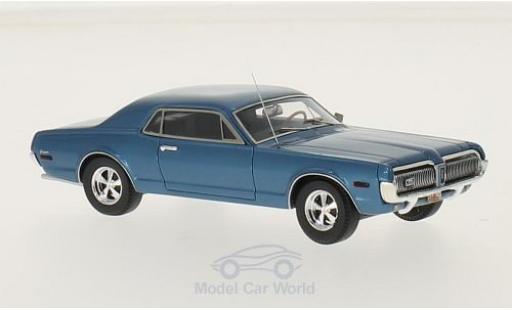 Mercury Cougar 1/43 Motorhead bleue 1968 miniature