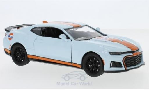Chevrolet Camaro ZL1 1/24 Motormax Gulf 2017 miniatura