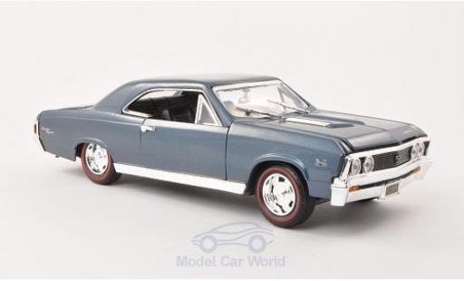 Chevrolet Chevelle 1967 1/18 Motormax SS 396 metallic-blue 1967 diecast