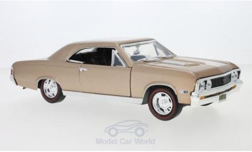 Chevrolet Chevelle 1/18 Motormax SS 396 metallise marron 1967 miniature