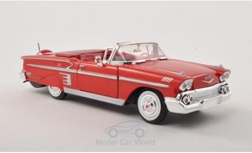 Chevrolet Impala 1/24 Motormax Convertible 1958 ohne Vitrine miniature