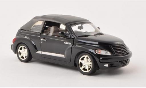 Chrysler PT Cruiser 1/24 Motormax Convertible noire sans Vitrine miniature