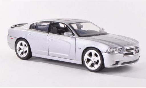 Dodge Charger 1/24 Motormax R/T silber 2011 modellautos