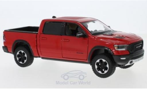 Dodge RAM 1/24 Motormax 1500 Crew Cab Rebel rouge 2019 miniature