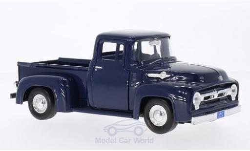 Ford F-1 1/24 Motormax 00 Pick Up bleue 1956