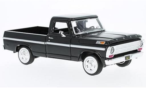 Ford F-1 1/24 Motormax 00 Pick Up noire 1969 miniature