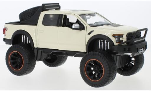 Ford F-1 1/24 Motormax 50 Raptor Off Road beige 2017 Maßstab 1:27 miniature