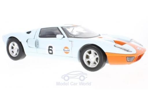 Ford GT 1/18 Motormax Gulf 2004 miniature