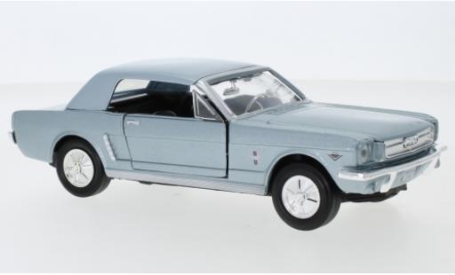 Ford Mustang 1/24 Motormax Hardtop 1964 modellautos