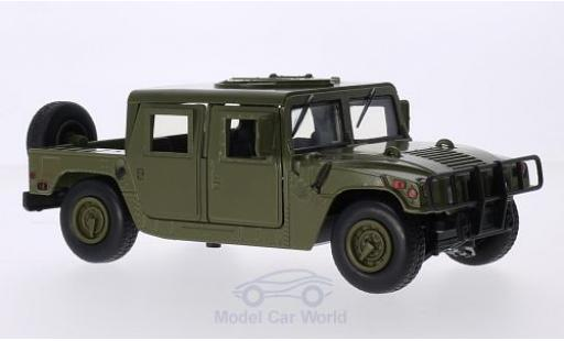 Hummer Humvee 1/24 Motormax matt-oliv Cargo / Troop Carrier miniature