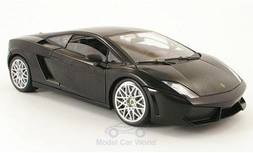 Lamborghini Gallardo LP560-4 1/18 Motormax matt-black diecast