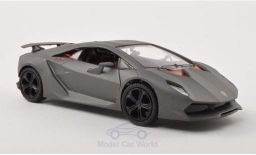 Lamborghini Sesto Elemento 1/24 Motormax matt-grise miniature