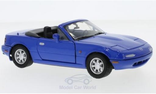 Mazda MX 1/24 Motormax -5 Miata bleue miniature