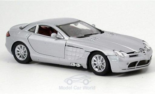 Mercedes SLR 1/24 Motormax McLaren grise miniature