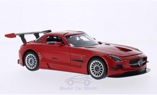 Mercedes SLS 1/24 Motormax AMG GT3 rouge miniature