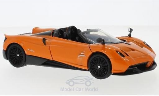 Pagani Huayra 1/24 Motormax Roadster métallisé orange miniature