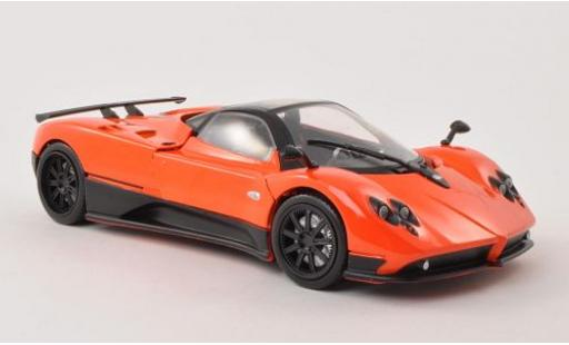 Pagani Zonda 1/18 Motormax F metallise orange miniature