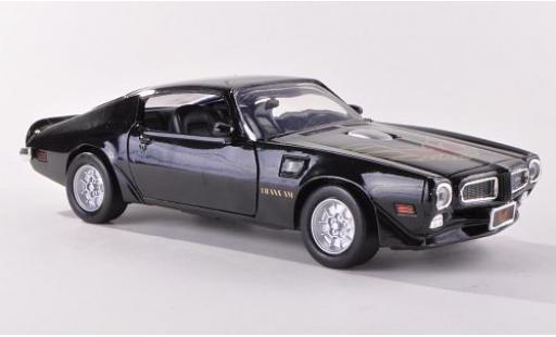 Pontiac Firebird 1/24 Motormax Trans Am noire 1973 sans Vitrine miniature