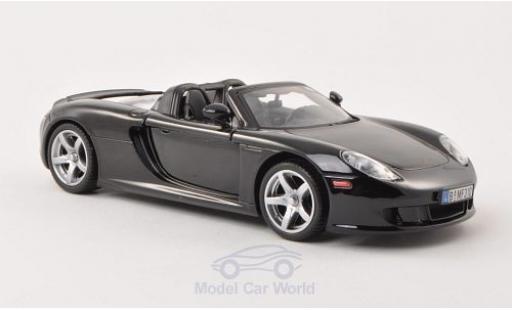 Porsche Carrera GT 1/24 Motormax black ohne Vitrine diecast