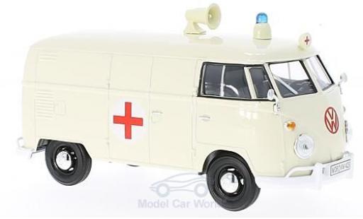 Volkswagen T1 B 1/24 Motormax Ambulance diecast model cars